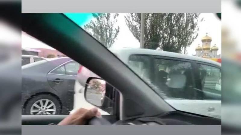 На Южной магистрали сбили человека
