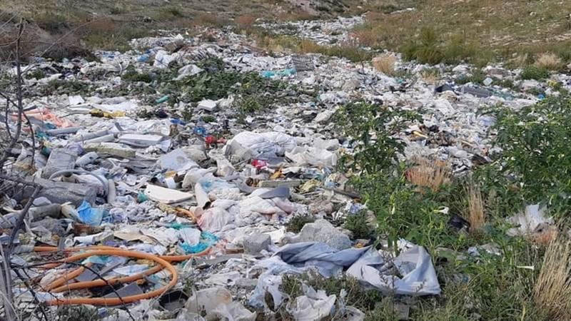 «Тонны пластика и трупы скота». Санитарно-защитная зона в Бостери засыпана бытовым мусором, - местная жительница