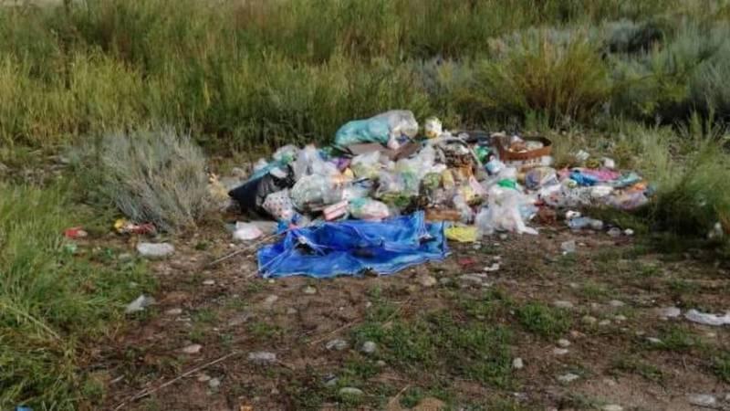 Жительница Чолпон-Аты жалуется на мусор на пляже. Видео