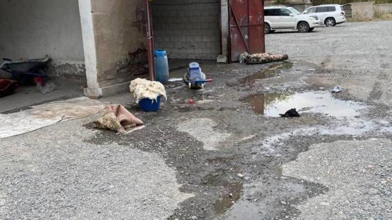 «Ковры валяются в грязи». Горожанин жалуется на антисанитарию на мойке ковров. Фото