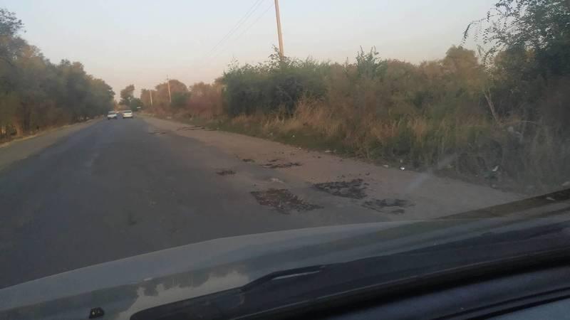 Когда закончится ямочный ремонт на ул.Иманалиева? - водитель