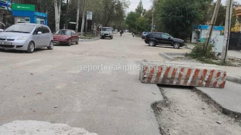 Укладка асфальта на ул.Усенбаева начнется после получения заключения, - мэрия