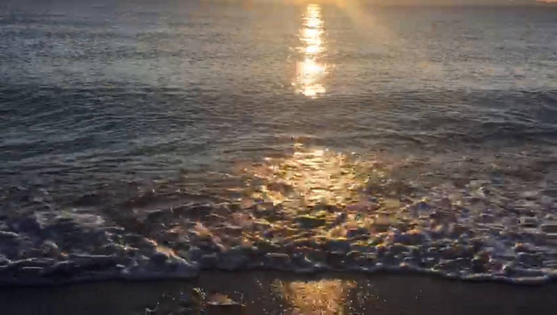 Видео - Закат на Иссык-Куле