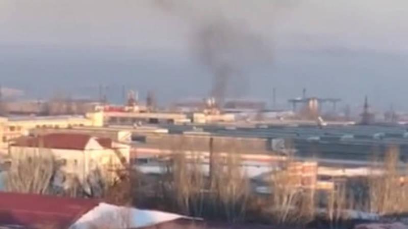 Здание на Горького загрязняет экологию. Видео горожанина