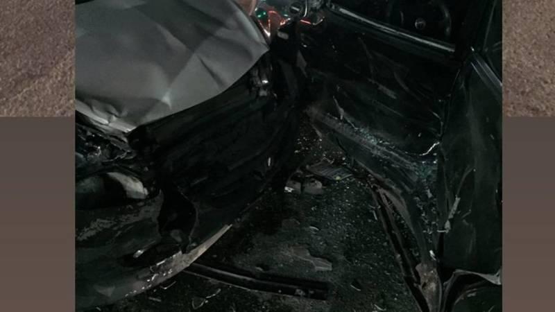 В Новопавловке столкнулись две легковушки