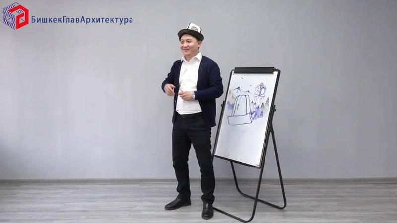 Сотрудники «Бишкекглавархитектуры» оригинально поздравили с днем Ак калпака