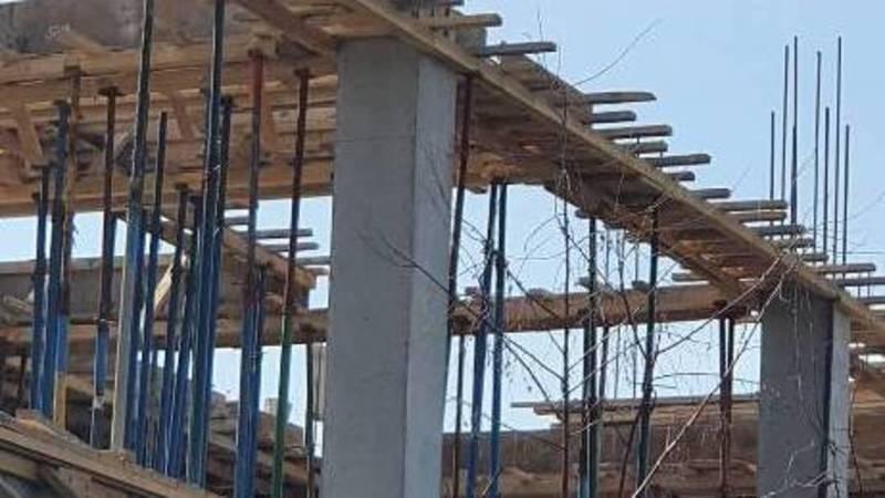 Что строится на ул.Нуркамал возле ботсада? Фото горожанина