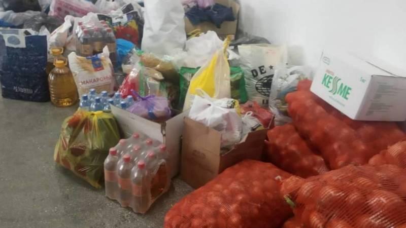 В Панфиловском районе организовали штаб сбора гумпомощи жителям Баткенской области. Видео и фото
