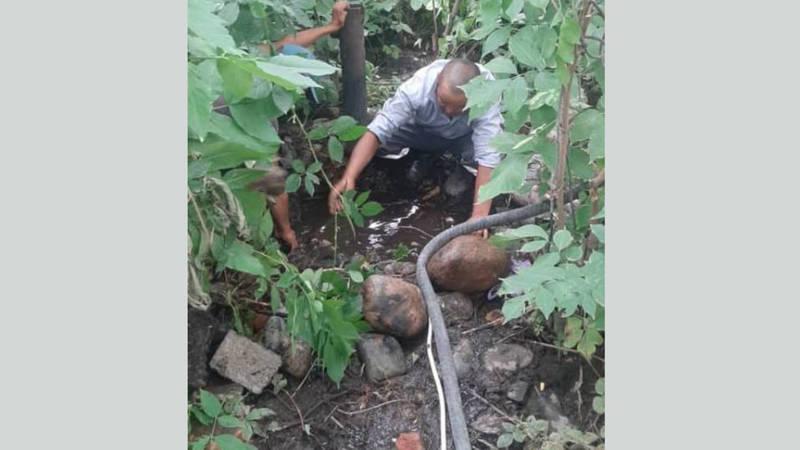 Трубопровод заглушен, утечки воды нет, - мэрия об утечке питьевой воды
