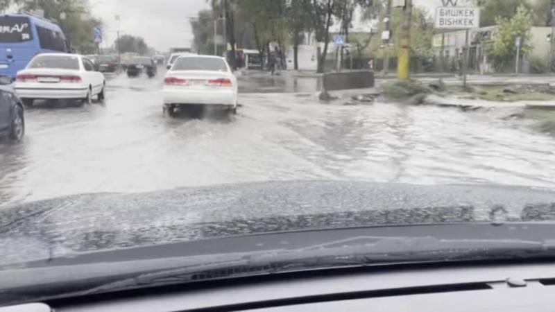 На Киркомстроме снова потоп. Фото и видео