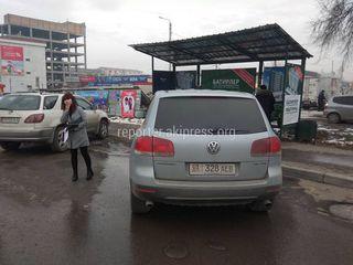 Жукеева-Пудовкина рынок Орто-Сай D6740AA и 01KG328AEB парковка на остановке