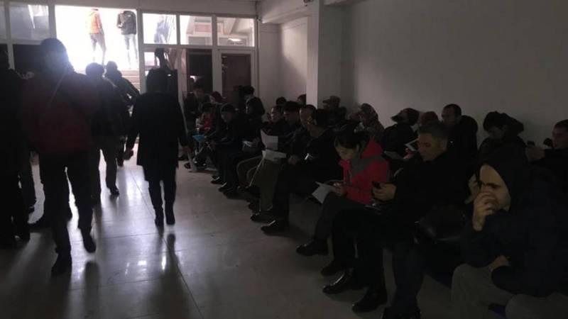 В ГУ «Унаа» в Бишкеке нет электричества. Видео