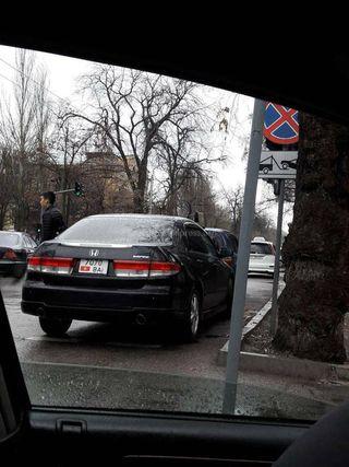 Пересечение улиц Токтогула и Московской