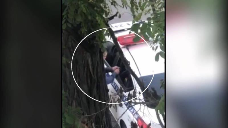 Что передают водители в машину патрульной милиции? - бишкекчанин