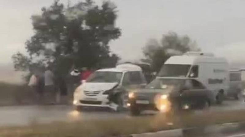 Два ДТП на объездной дороге. Видео очевидца