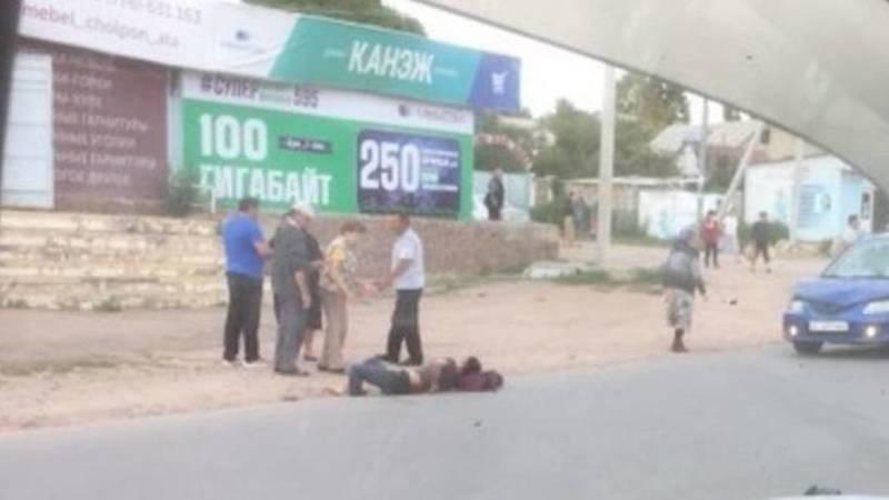 В Чолпон-Ате сбили мужчину