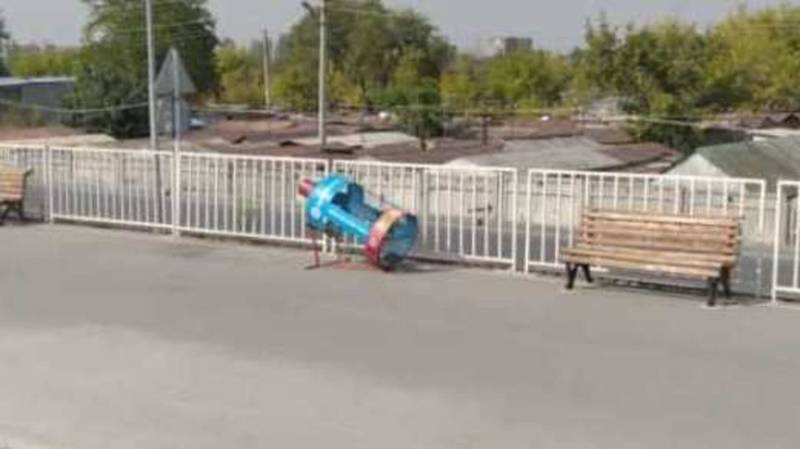 «Тазалык» очистил мусоросборник на Южной магистрали