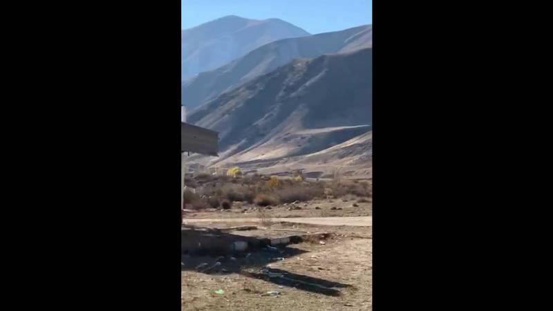 Территория вокруг курорта Иссык-Аты заброшена мусором