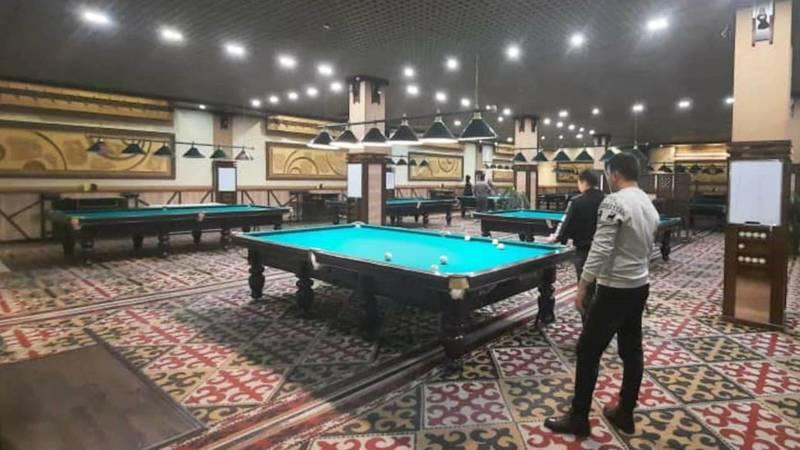 Бильярдный клуб «Соң-Көл» оштрафован за работу во время пандемии