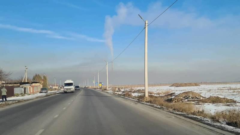 Из-за смога не видно ТЭЦ, - горожанин Дастан