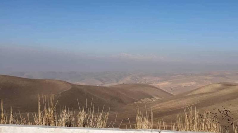 Смог над Жалал-Абадом. Фото