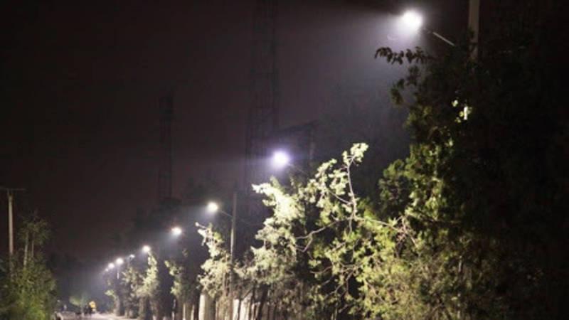 Житель Оша просит не выключить уличное освещение рано