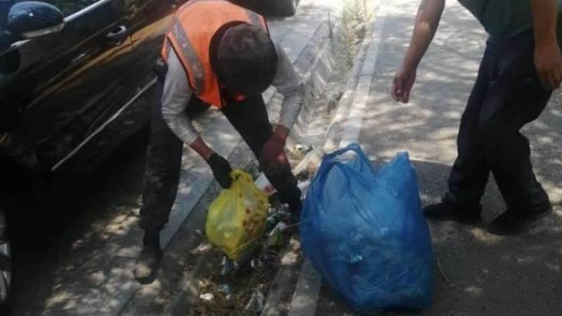 Мусор убран, - мэрия о мусоре возле НЦО