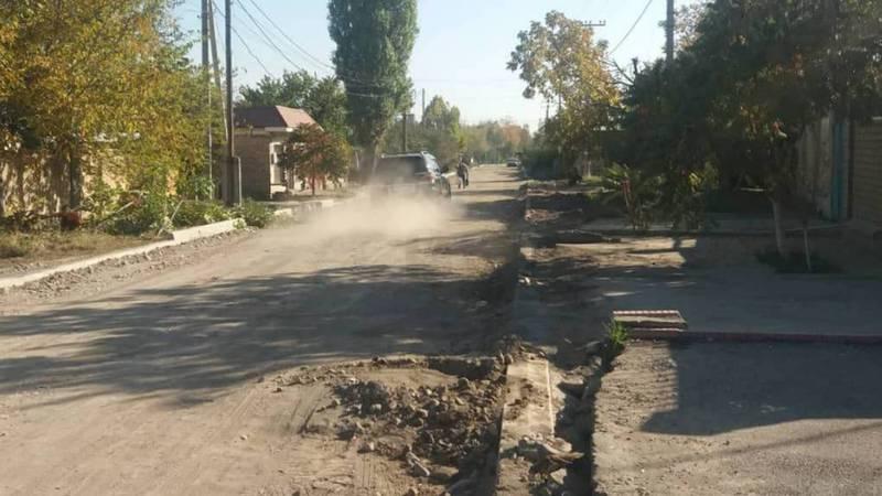 Бишкекчанка интересуется, когда закончится ремонт ул.Мусы Джалиля?