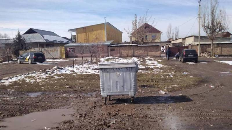 Мусор на Ахунбаева-Чортекова был вывезен