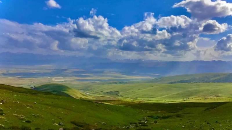 Красота природы Суусамырской долины. Фото бишкекчанина Нурдина