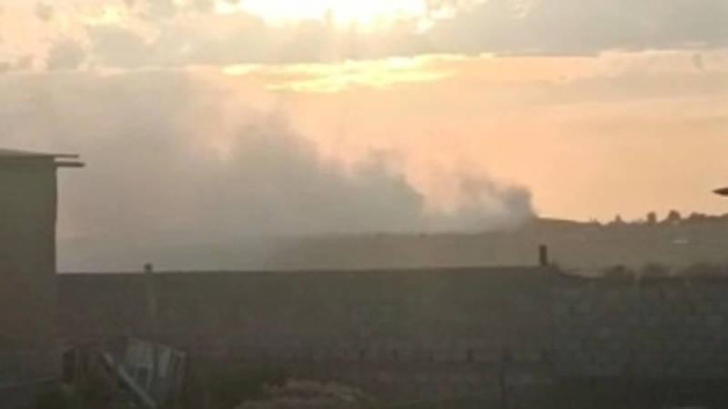 Горожанин жалуется на дым от городской свалки. Видео