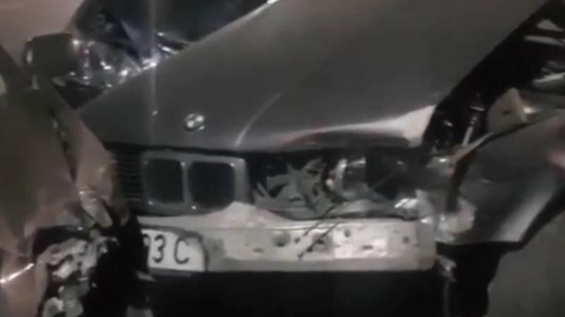 На ул.Куренкеева столкнулись Lexus RX 400, BMW 520 и «Хендай»