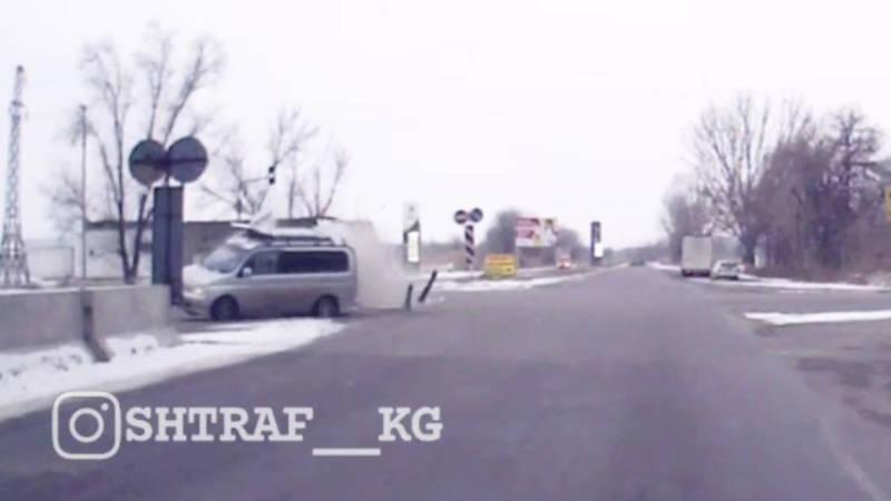 Момент ДТП в Канте, в результате которого умерли 6 человек, попал на видео