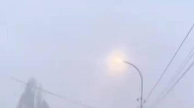 Это смог или туман? Видео горожанина