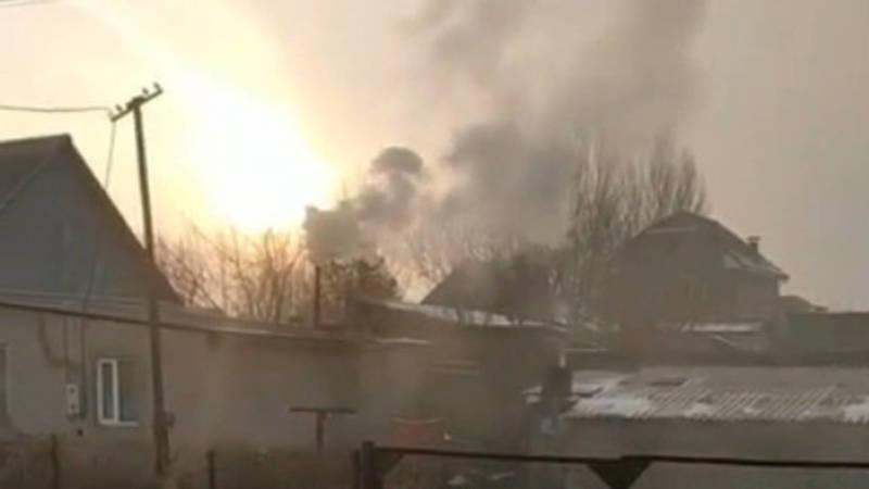 Житель Военно-Антоновки загрязняет экологию. Видео