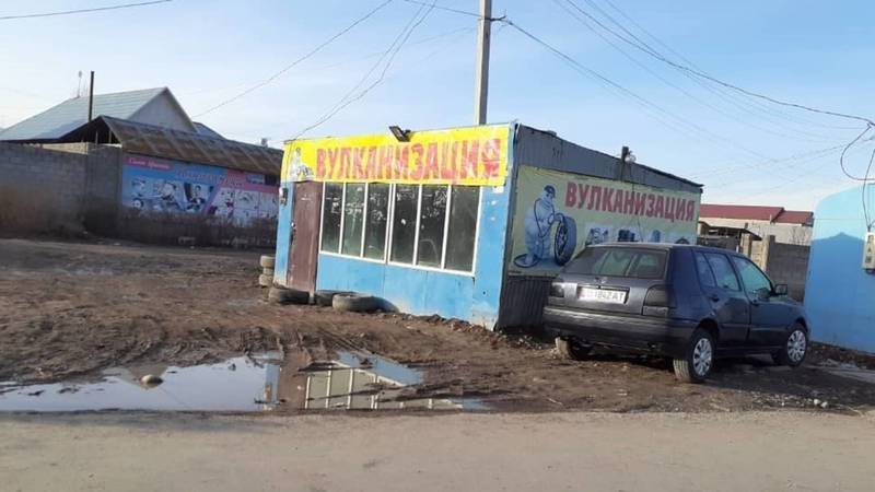 Законно ли установлены павильоны и контейнеры в Ак-Ордо на ул.Гагарина? - местный житель