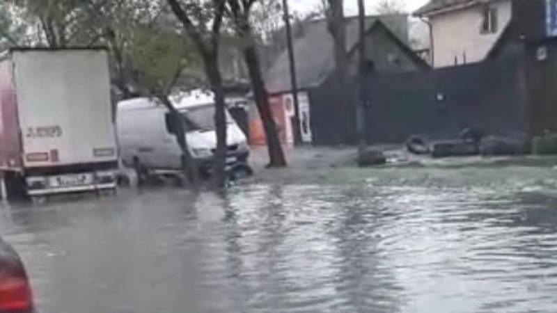 На Киркомстроме снова потоп. Видео