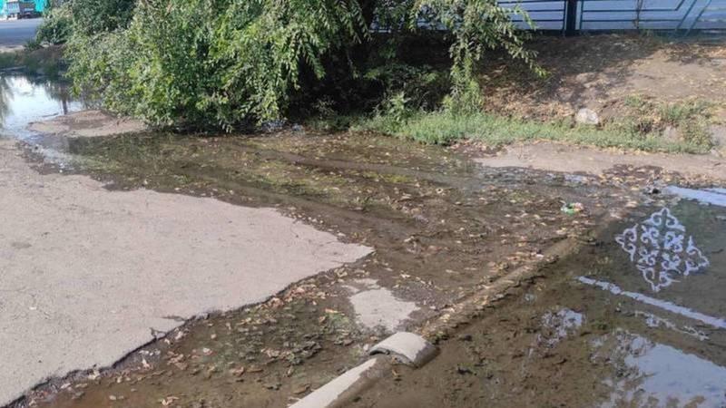 Затоп на улице Фучика устранен, - мэрия