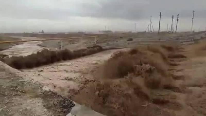 Река Сокулук переполнена водой, - житель (видео)