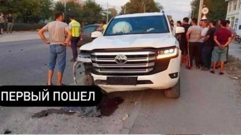 Новая «Тойота» попала в ДТП, - очевидец