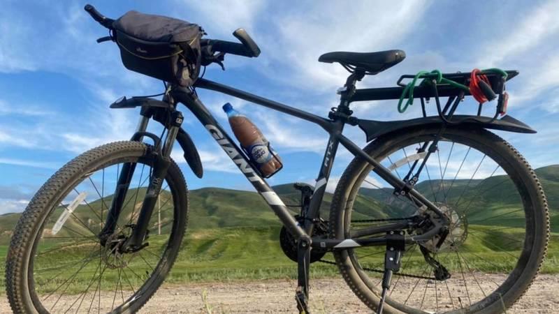 В Рухий-Мурас украли велосипед. Фото