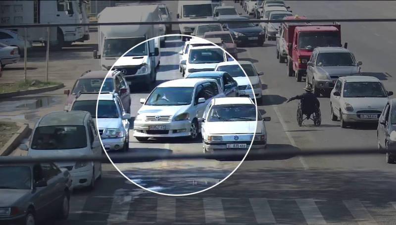 ГУОБДД ответило водителю по штрафу за вынужденное нарушение ПДД и показало видеозапись нарушения
