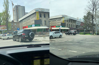 Парковка на «зебре», тонировка