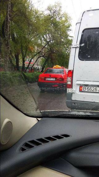 Езда по встречке на ул.Московской