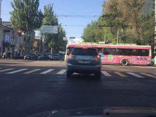 Выезд за стоп-линию на красный сигнал светофора
