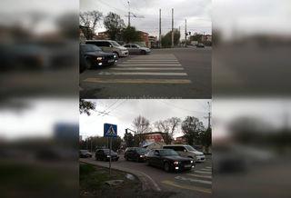 Выезд за стоп-линию на Валиханова-Анкара
