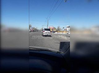 Выезд на красный сигнал светофора на Дэн Сяопина-Лумумбы