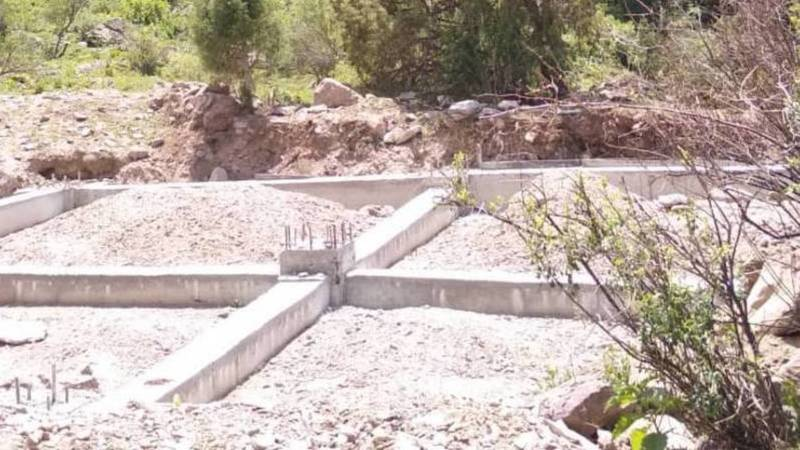 Законно ли в Кегетинском ущелье идет строительство? Фото
