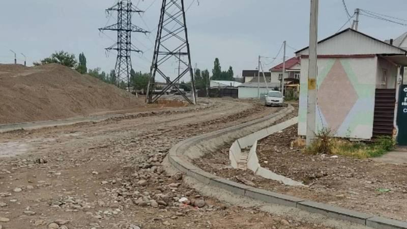 Когда закончится ремонт дороги по ул.Ашар в Ак-Орго? - местный житель Аман