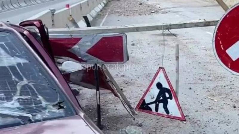 В Бооме произошло ДТП, пострадали 5 человек. Фото